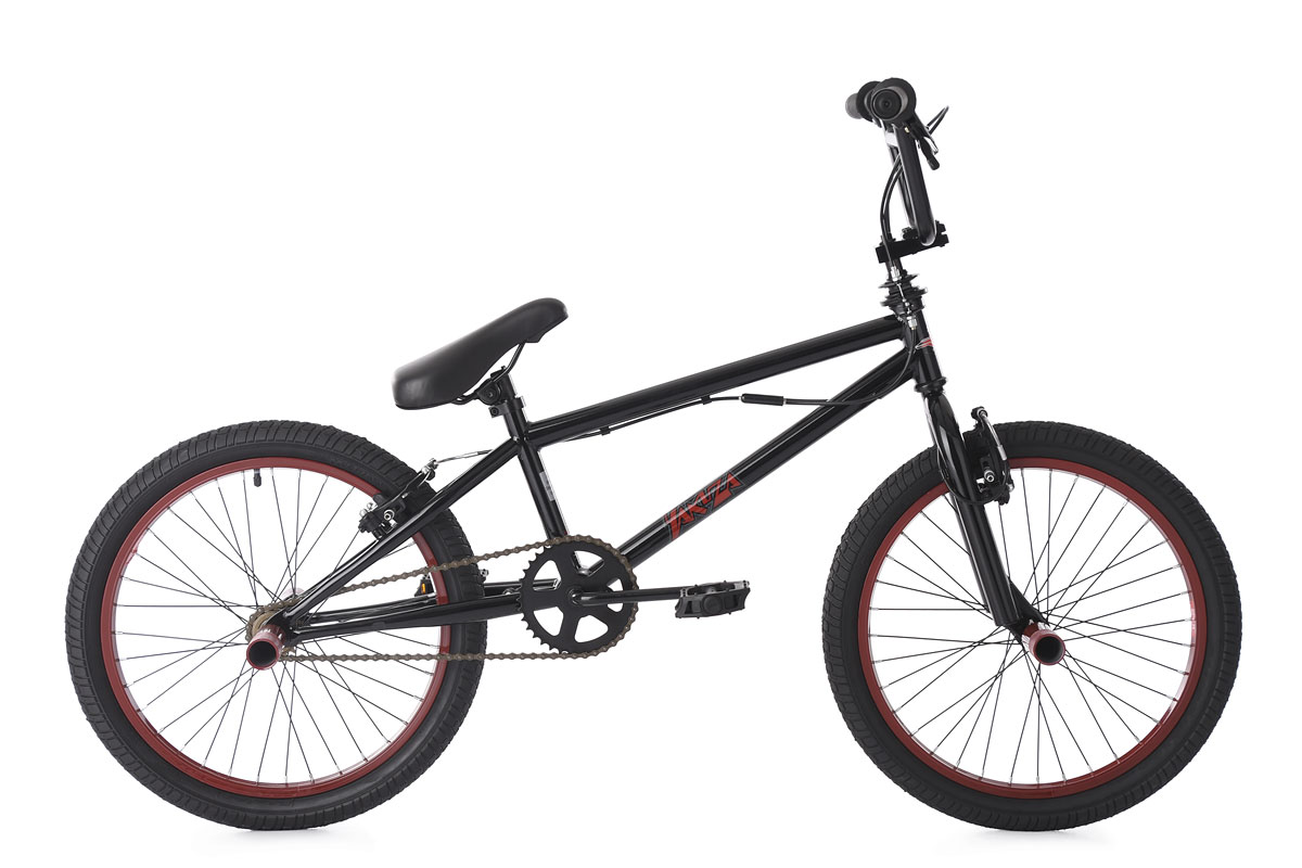 BMX Freestyle 20'' Yakuza rouge-noir KS Cycling