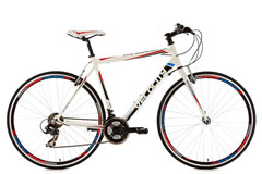 Vélo route 28'' Velocity blanc KS Cycling