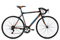 Vélo de course 28'' Piccadilly noir-orange-bleu KS Cycling