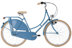 Vélo hollandais 28'' Tussaud 3 vitesses bleu TC 54 cm KS Cycling