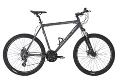 VTT semi rigide 26'' GTZ anthracite TC 51 cm KS Cycling