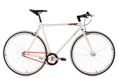 Fixie 28'' Essence blanc KS Cycling