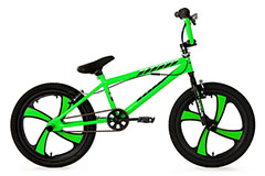 BMX Freestyle 20'' Cobalt vert fluo KS Cycling