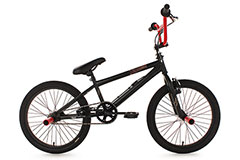 BMX Freestyle 20'' Dynamixxx noir et rouge KS Cycling