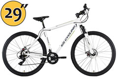 VTT semi rigide 29'' Heist blanc TC 51 cm KS Cycling