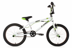 BMX Freestyle 20'' Hedonic blanc KS Cycling