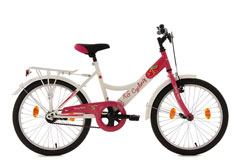 Vélo fille 20'' Cherry Heart rose TC 36 cm KS Cycling
