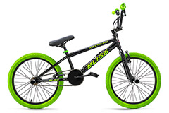 BMX freestyle 20'' Bliss noir-vert KS Cycling