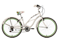 Beachcruiser  26'' Bellefleur blanc TC 40 cm KS Cycling