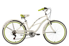 Beachcruiser 28'' Bellefleur blanc TC 40 cm KS Cycling