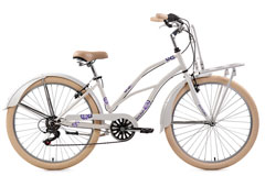 Beachcruiser Cargo 26'' Kahuna blanc KS Cycling