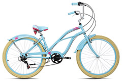 Beachcruiser 26'' Splash bleu TC 44 cm KS Cycling