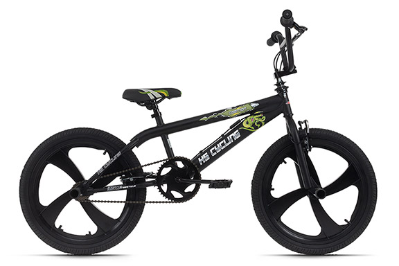 BMX freestyle 20'' Daemon noir KS Cycling