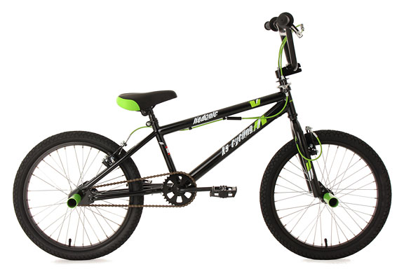 BMX Freestyle 20'' Hedonic noir KS Cycling
