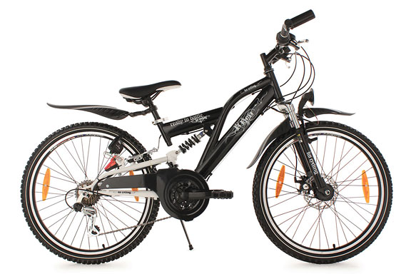 Vélo junior 24'' B-Boy noir TC 36 cm KS Cycling